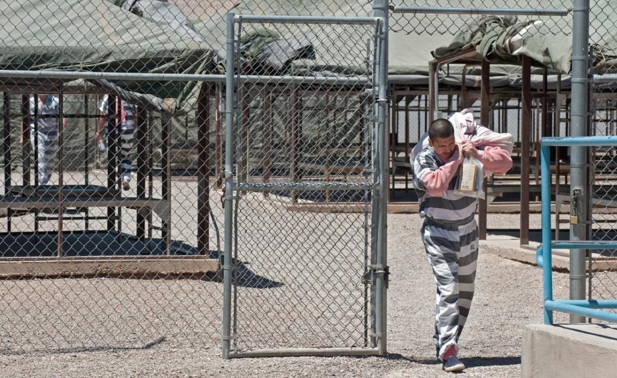 inmate leaving jail