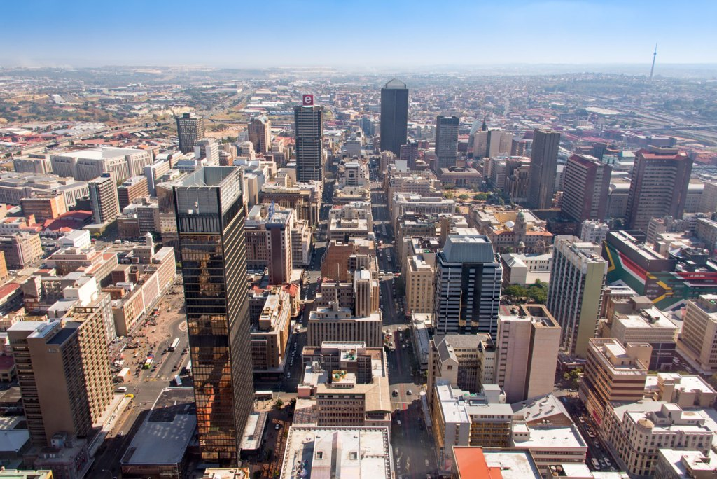 Johannesburg south africa the biggest city in africa 2020
