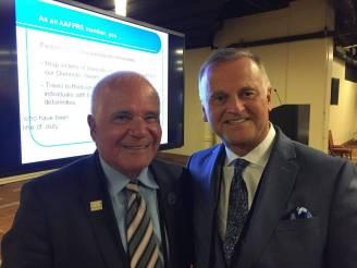 Dr. Chernoff with world renowned Rhinoplasty surgeon Dr. Robert Simons.