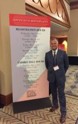 Dr. Greg Chernoff at the Chicago Advances in Rhinoplasty Conference, May 2017.