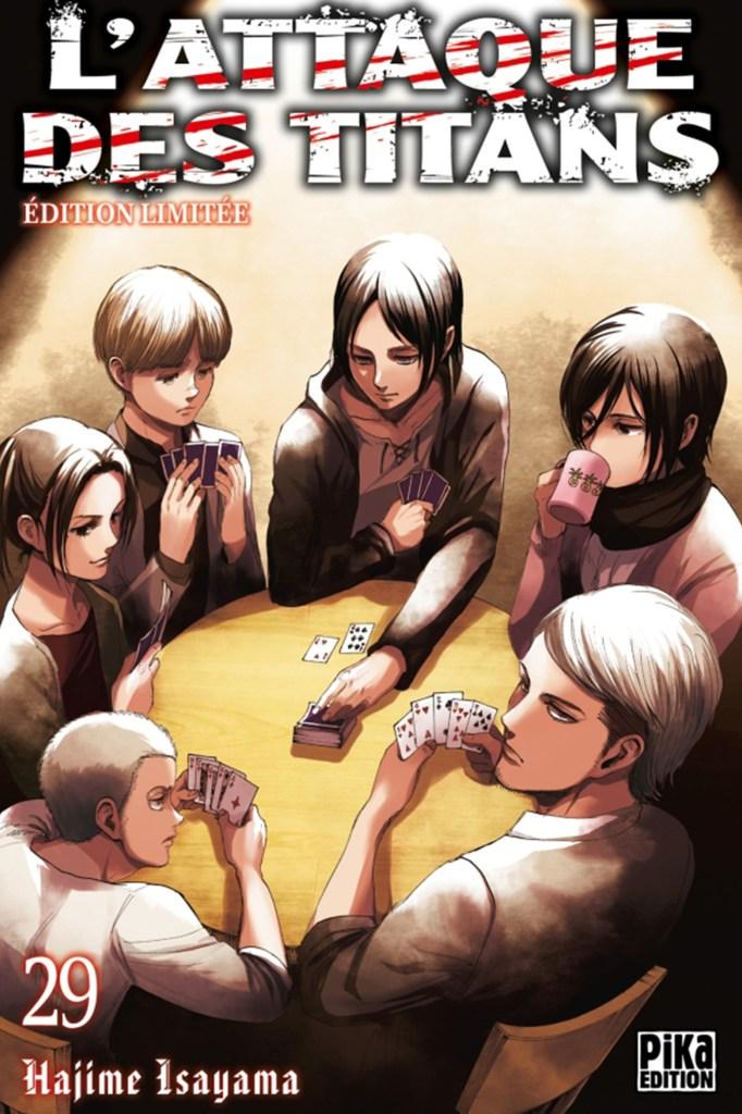 l'attaque des titans,tome 29,manga,seinen,pika edition