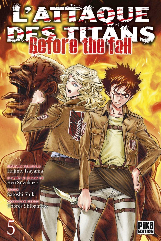 l'attaque des titans,seinen,manga,pika edition,spin-off,Before The Fall,L'attaque des titans Before The Fall,tome 5