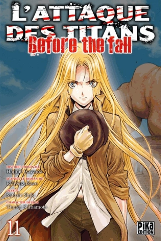 l'attaque des titans,seinen,manga,pika edition,spin-off,Before The Fall,L'attaque des titans Before The Fall,tome 11