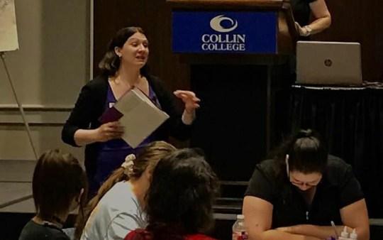 Speaking - Collin 2