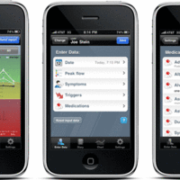 Mobile app for Asthma Patients