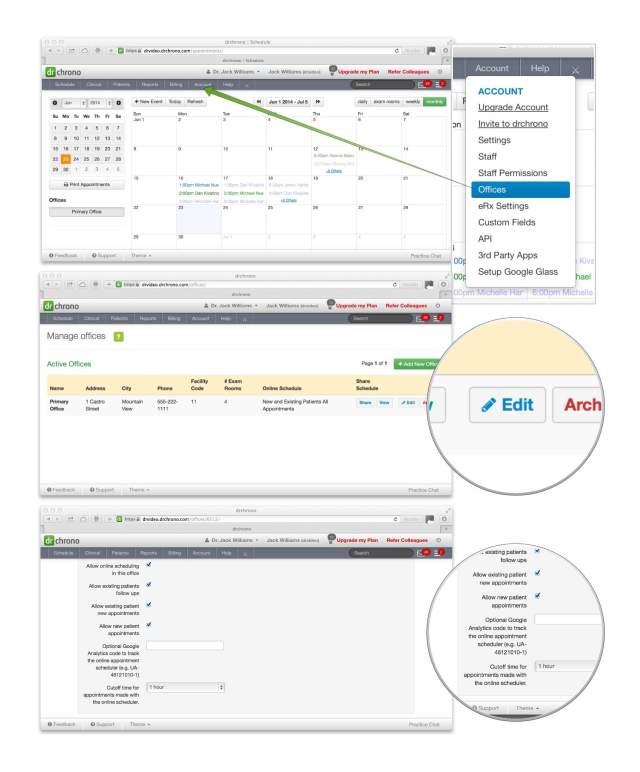 drchrono-online-schedule-google-tracking-code