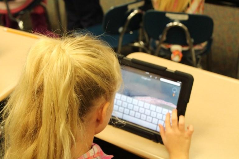 ipad, learning, tablet
