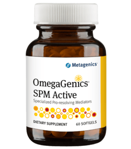 Metagenics OmegaGenics SPM Active