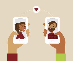 Stress av online dating