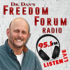Image result for Dr. Dan's Freedom Forum Radio