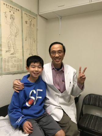 Renzo Fukuda and Dr. Dave Liu