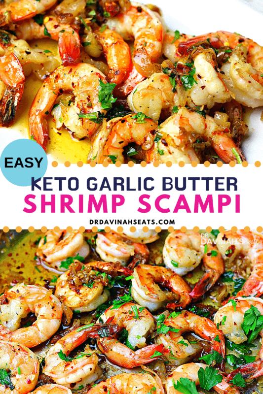 Whole Foods Marinated Shrimp Scampi : whole, foods, marinated, shrimp, scampi, Garlic, Shrimp, Scampi, Recipe, [+VIDEO], Davinah's