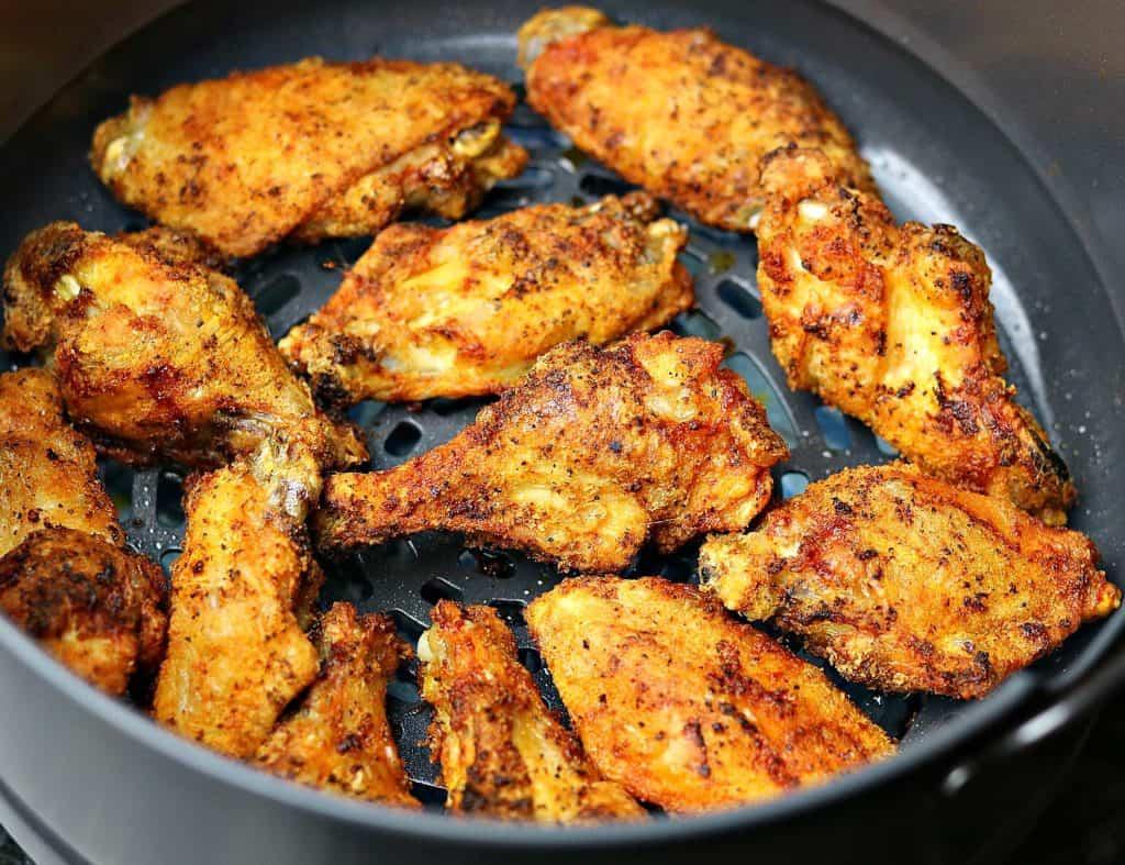 Ninja Foodi Air Fryer Chicken Wings Recipe Video Dr