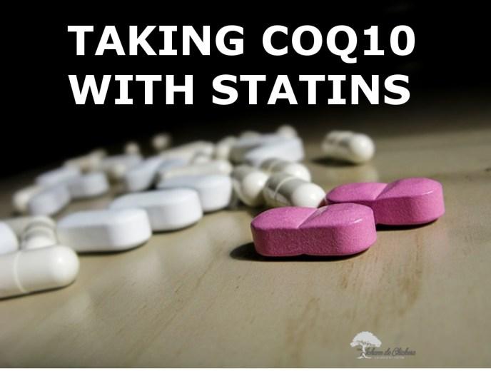 Coq10 pills with statin pills