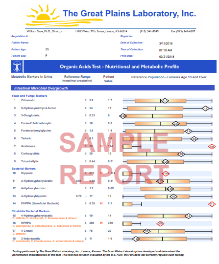 screen shot of GPL OAT test