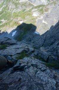 Crux NW ridge