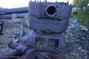 Pump at ruins
