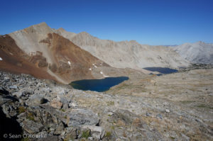 Lakes north of Pinchot Pass