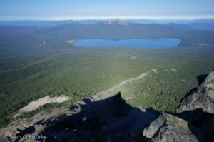 Thielsen and Diamond Lake