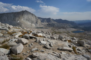 Unnamed peak near Regiment Lake