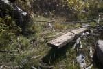 Bridge remnants