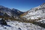 View down North Crestone Creek