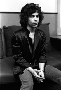 1980, Manhattan, New York, New York, USA --- Prince backstage at The Bottom Line. --- Image by © Deborah Feingold/Corbis