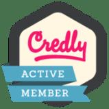 Credly Member Badge
