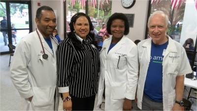 Free Medical-Dental and Vision Clinic, South Texas