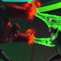 Atrocitus vs Green Lantern