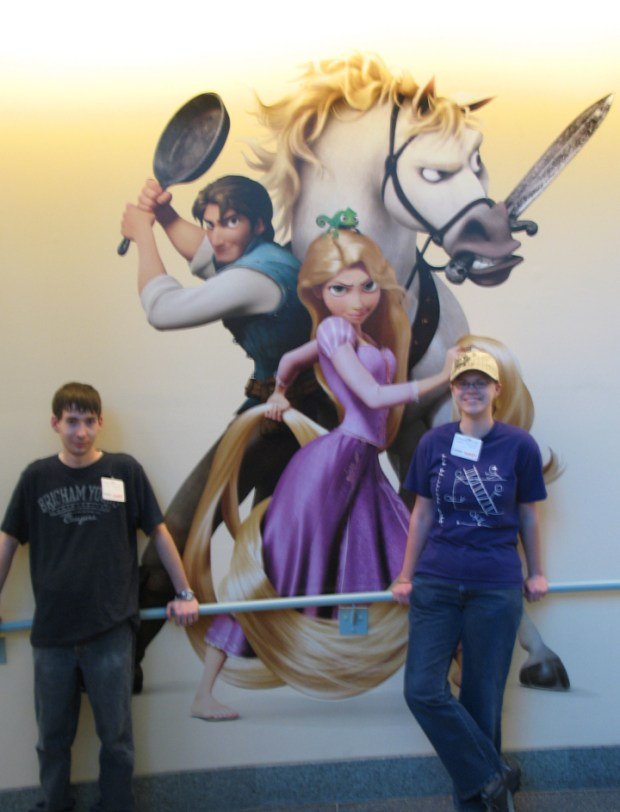 Tangled Wall Art with Me and Beep