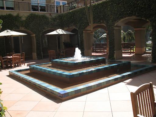 Fountain at DreamWorks
