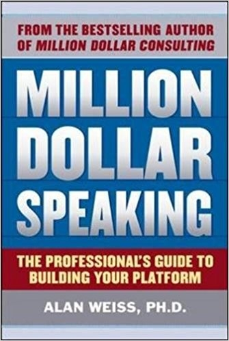 Million Dollar Speaking by Alan Weiss (@BentleyGTCSpeed) [Book Review]