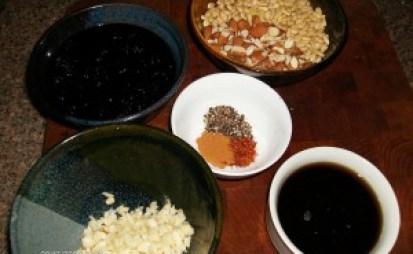 jimli spice with garlic prunes nuts