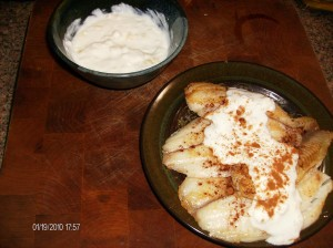 fish with sesame and yogurt