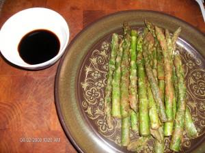 fried asperagus