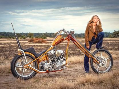 Hammer-Bike: Thunderbikes Panhead-Chopper zum 35jährigen Firmenjubiläum