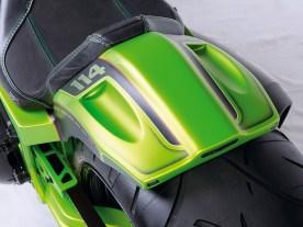 Das Thunderbike-Heck ist deutlich schnittiger, als das klobige Original