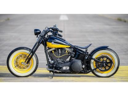 Wir verwenden, soweit möglich, Originalteile von Harley-Davidson