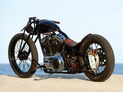 Das Bike wurde des Öfteren auf Salzseen eingesetzt, so dass der Motor irgendwann ausgelutscht war