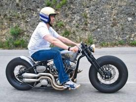 Vincent Raffaelli betreibt eine kleine Werkstatt unter dem Namen Fun Racing Cycles im Hinterland der französischen Riviera. Doch mit dem wilden Treiben an der Küste hat der ruhige Kerl nichts am Hut