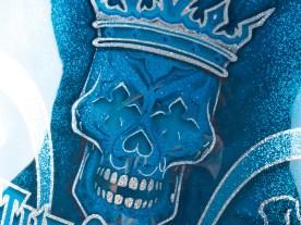 King Kool Metal Flake-Lackierung