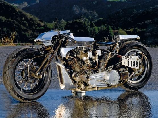 Motor und Rahmen stammen aus dem Jahr 1946