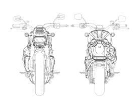 Das Bike wirkt stämmig und klein und könnte womöglich eine neue Sportster-Generation begründen