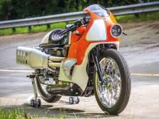Goddhammer – Das altertümlich anmutende Sportmotorrad entstand auf Basis einer Forty Eight neueren Datums. Echt jetzt?