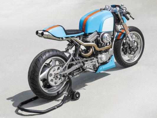 Speed Merchant Hybride – Brawnie aus dem sonnigen Südkalifornien hat ein Händchen für Fahrwerk und Motoren. Für Speed sowieso