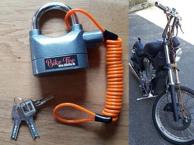 Der Bike Wächter – alarmgesichert
