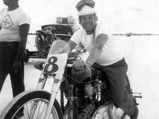 Al Molenaar, August 1954, auf der Tramp