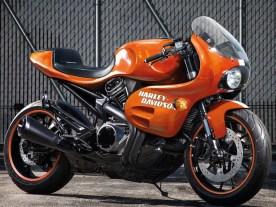 Kommt ein Retro-Sportbike? Die Revolution-Max-Plattform macht vieles möglich. Geil wäre eine Harley mit ein bisschen Renn-Attitüde