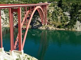 Brücke bei Maslenica